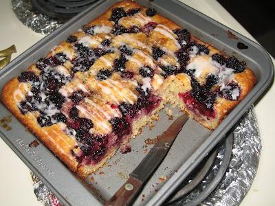 Blackberry Kuchen
