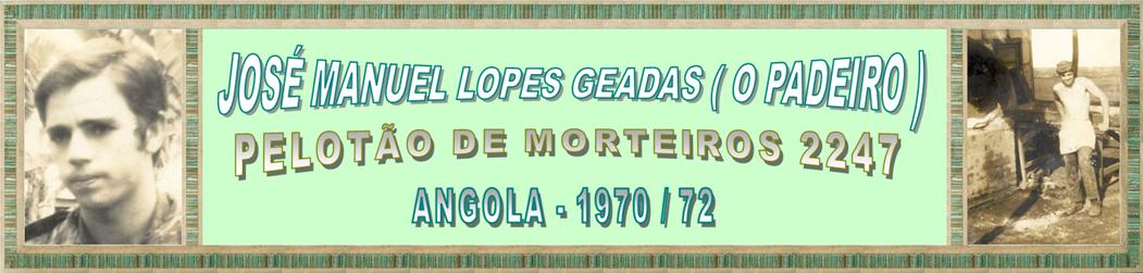 José Manuel Lopes Geadas (O Padeiro)