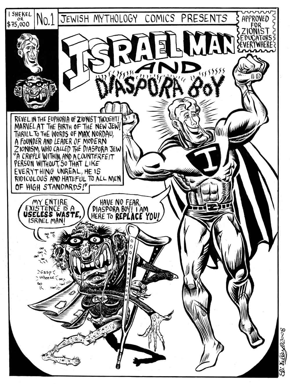 Image result for Zionist WWI Conspiracy CARTOON
