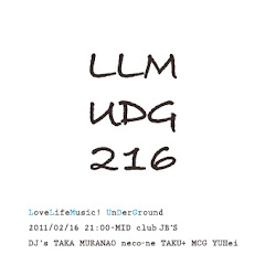 2011/02/16(水)LoveLifeMusic! underground@club JB's