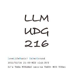 2011/02/16(水)LoveLifeMusic! underground@club JB's