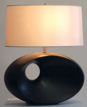 Nova 0480 Convergence Table Lamp Dark Brown
