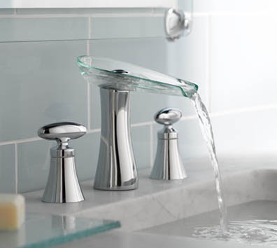 Moen TS888 ShowHouse Vivid Chrome 2 Handle Open Waterway Widespread Bathroom Faucet