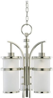 Sea Gull 60115-962 3 Light Eternity Indoor/Outdoor Pendant Brushed Nickel