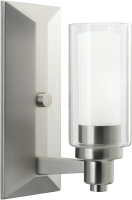Kichler 6144NI Circolo 1 Light Wall Sconce Brushed Nickel