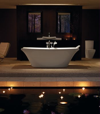 Kohler K-11344 Escale Freestanding Bath