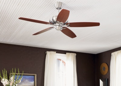 Monte Carlo 5DCR60EP 60 Inch 5-Blade DC Ceiling Fan