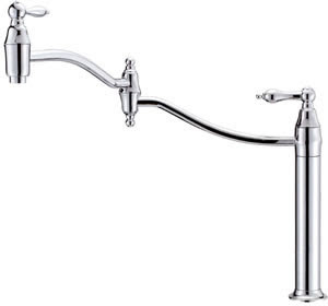 Danze D206540 Fairmont Deck Mount Pot Filler Kitchen Faucet