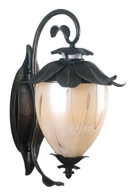 Kenroy Home 70250OBZ Azalea Small Wall Lantern