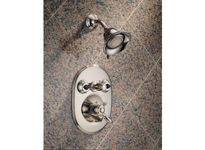 Delta T18T255 Victorian Thermostatic Jetted Shower System