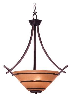 Kenroy Home 90084ORB Wright 3 Light Pendant