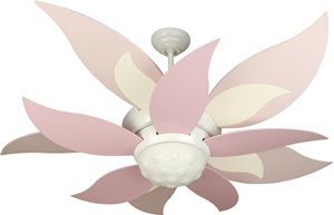 Craftmade BL52W-BBL52PNK Youth 2 Light Bloom Ceiling Fan