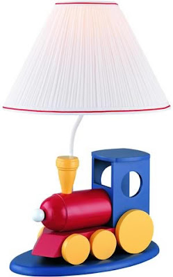 Lite Source IK-6052 1 Light Table Lamp - Train Body With Shade