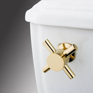 Kingston Brass KTDX2 Decorative Tank Lever - Polished Brass