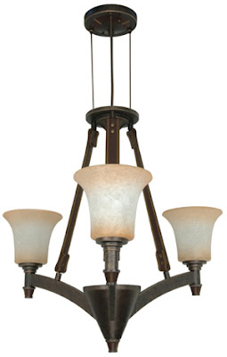 Nuvo 60-2445 Viceroy Es 3 Light Chandelier