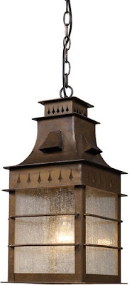 Elk 18003/1 Colony Heights Colony Height 1 Light Outdoor Pendant In Coffee Bronze