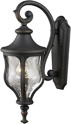 Elk 42250/1 Grand Aisle 1 Light Mini Outdoor Wall Mount In Weathered Charcoal