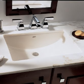 American Standard 0614.000 Studio Rectangular Undercounter Bathroom Sink