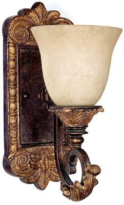 Capital 1461GL-276 1 Light Wall Sconce Gold Leaf