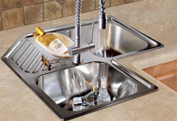 Franke AMX-671-E Armonia Stainless Steel Triple Bowl Kitchen Sink