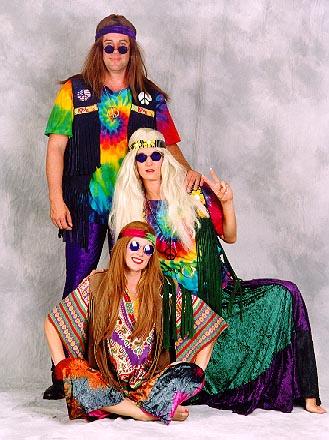 Hippies 60s Fashion