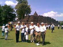 Behind Borobudur,Jogja