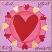 Award received from Mea - mayflower-meibloem.blogspot.com