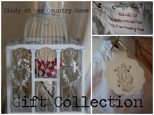 Cindy at her Country Home - gift collection