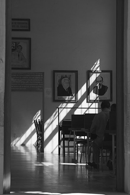Library, Oaxaca Mexico