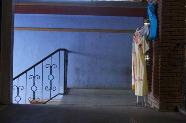 Blue Stairway, Ocotlan, 2009