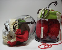 Draw-string bags by Creative Couture