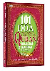 Buku 101 Doa Para Nabi Dan Rasul Dalam Al-Quran
