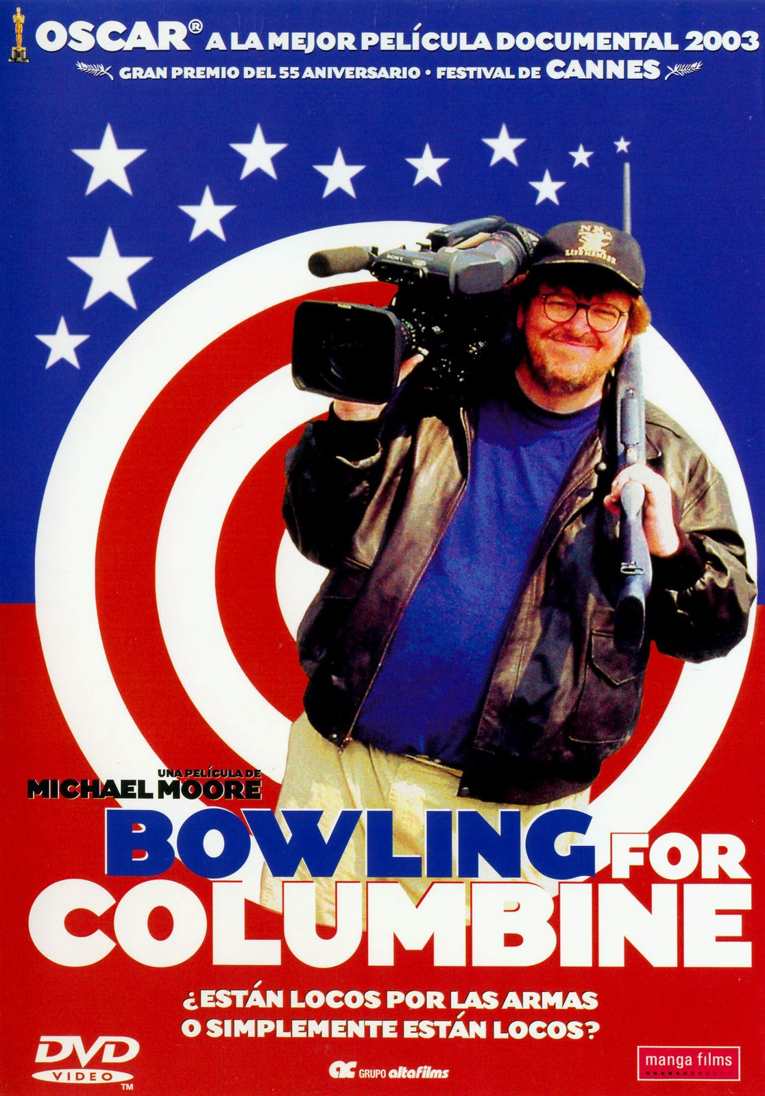 """a review of the film bowling columbine Moore's untitled new film will be the third feature  from the opening minutes of """"bowling for columbine"""" — has proven  review: netflix series."""