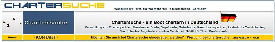 Chartersuche - Yachtcharter in Deutschland