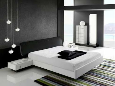 Minimalis Bedroom Interior Design Black Our Whithe