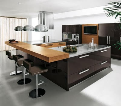 Contemporary Kitchens on Modern Kitchen Decorating