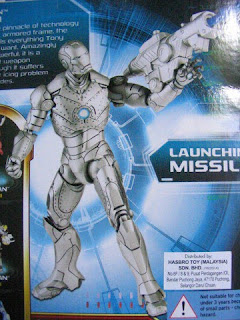 Marvel Iron Man armor 2 movie comic series classic power assault hyper velocity deep dive stealth mark I II III