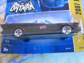 Hot Wheels Batmobile Variation