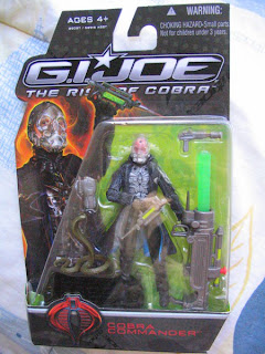 GI JOE The Rise of COBRA MARS Commander variant