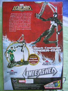 Marvel Unleashed Spider-man Black Symbiote 12 inch Venom Carnage  Dr Oct