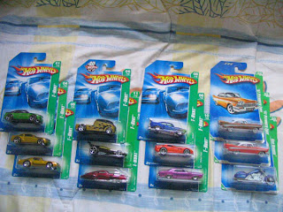 01/12 Crysler 300C 04/12 Ford Mustang GT 05/12 Hot Bird 06/12 Qombee 11/12 Drift King 12/12 Evil Twin 08/12 Jaded 08/12 Dodge Viper 10/12 '64 Buick Riviera 02/12 Plymouth  Fury both T-Hunt$ Treasure T-Hunt 03/12 Bad Bagger