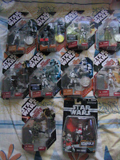 Star Wars Clone Troopers Galactic Marine 30th Annivesary collection Revenge of the Sith collector's coin Imperial EVO Trooper The Force Unleashed Dark Trooper SAGA Legends GOLD  501st Legion Trooper Hawkbat Battalion Expanded Universe  Imperial JumpTrooper  7th Kashyyyk  Episode III Greatest Battles hologram Boba Fett