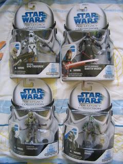 Star Wars Clone Troopers Droid Factory R4-D6 Battle Damaged Darth Vader Imperial Evo Trooper Kashyyyk Trooper Commander Gree