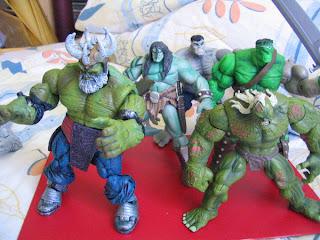 Marvel Legends BAF Fin Fang Foom King Hulk Son End Grey Maestro Lot