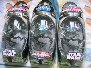 STAR WARS Titanium Clone Troopers AT-TP Wars Army Revenge of the Sith