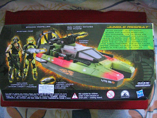 GI JOE Jungle Assault Copperhead Swamp-Viper Sting Raider Rise of COBRA Hasbro