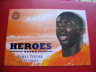 Futera Heroes Cards Wilson Palacios Kolo Toure Birmingham City Arsenal Wigan Athletic Tottenham Hotspurs