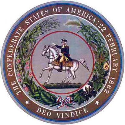 The Great Seal of the Confederate States of America (obverse)