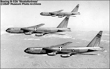 Boeing B-52A Stratofortresses
