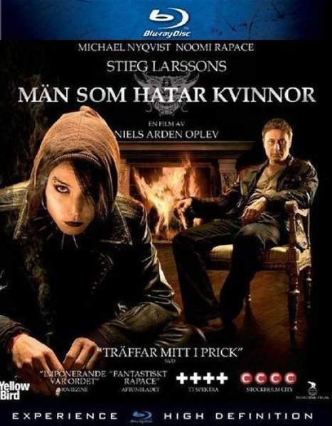 The Girl with the Dragon Tattoo or more aptly, to use its original Swedish